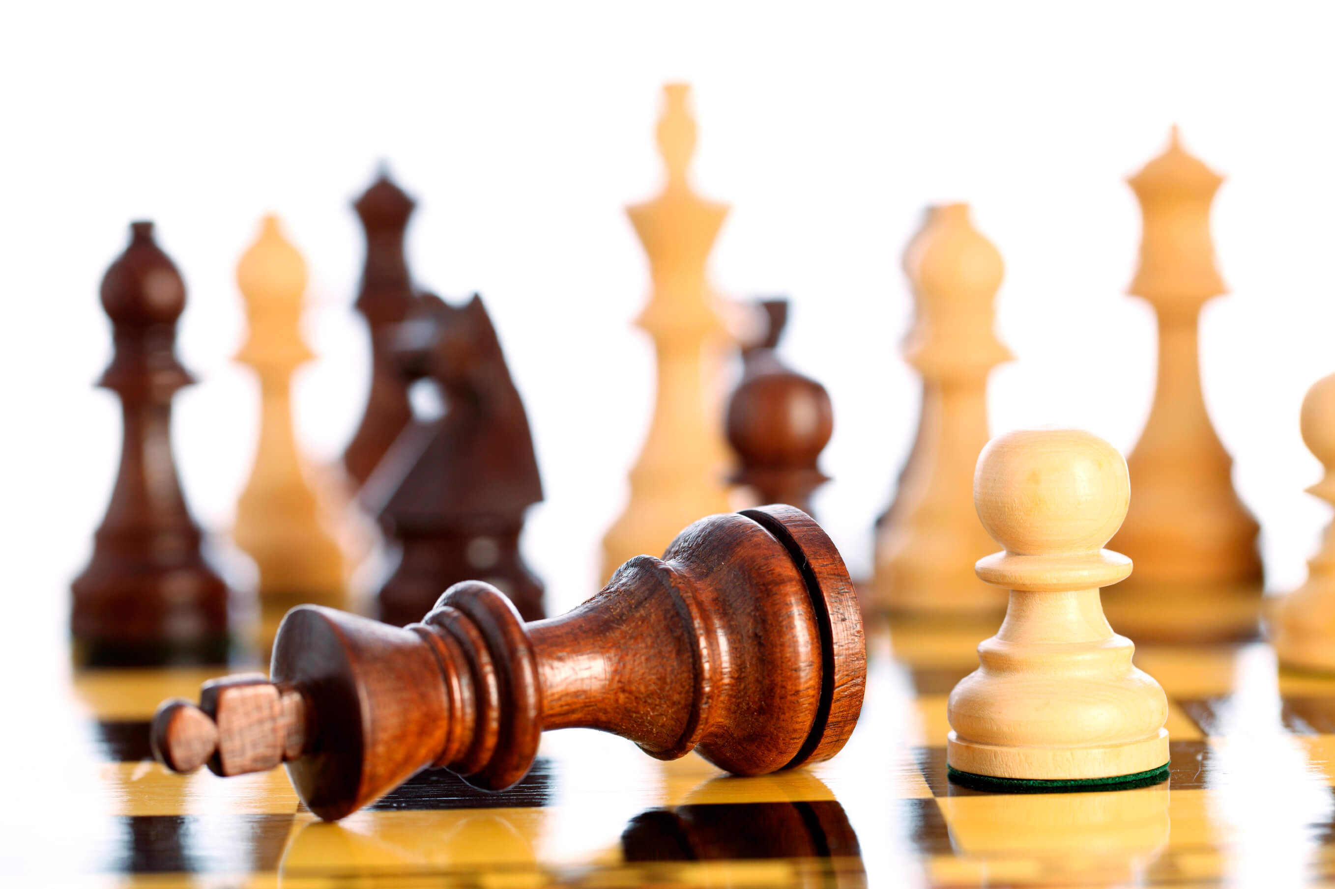 Chess game comes to an end when the king is checkmated