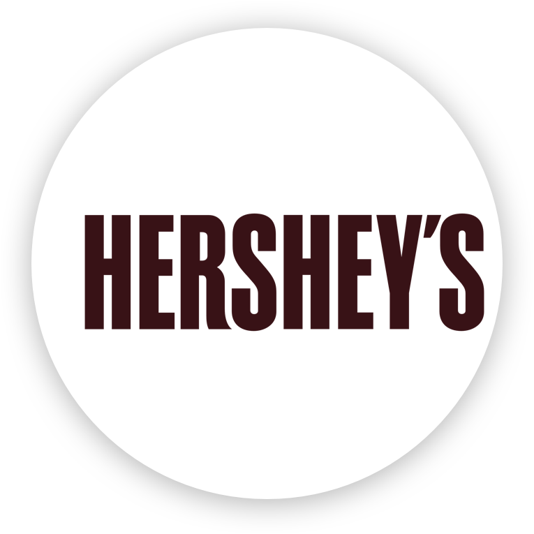 Hershey's uses artificial intelligence.
