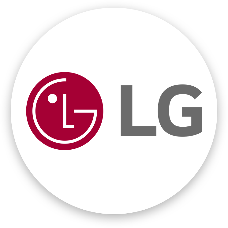 LG uses artificial intelligence.