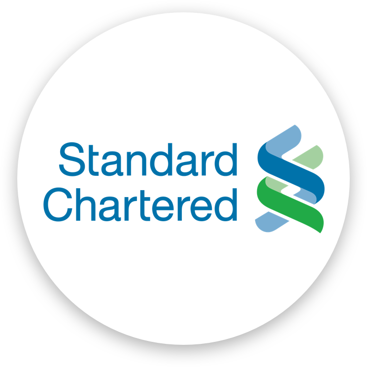 Standard Chartered uses artificial intelligence.