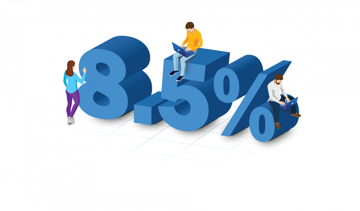 8.5%-Increase-in-Revenue